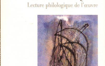 Saint-John Perse sans masque. Lecture philologique de l'œuvre 2002