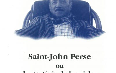 Saint-John Perse ou la stratégie de la seiche 1996